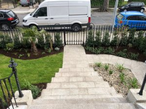 Front garden finished - Northbrook Road